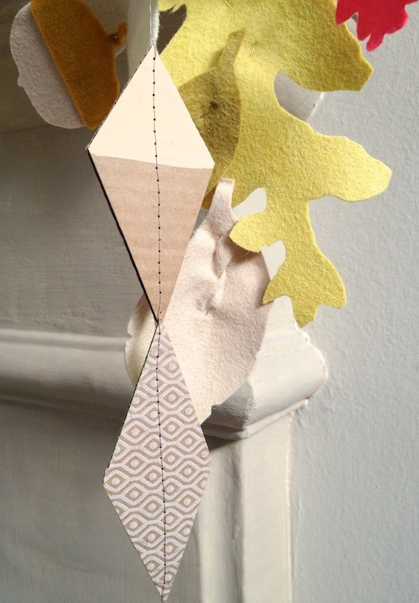 Upcycled garland 3
