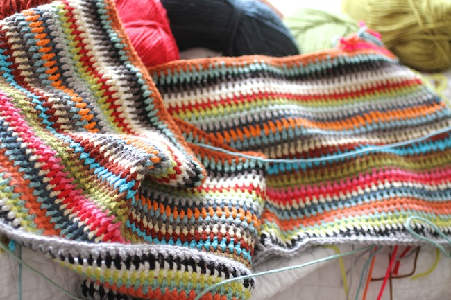 PG_crochet blanket wip