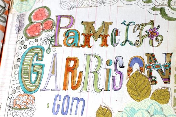 PG_hand drawn fonts