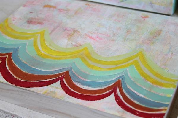 Pam Garrison summer fiesta painting 4