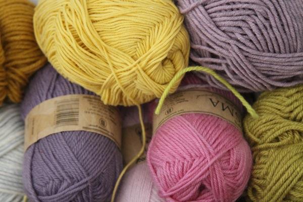 Yarn palettes 2