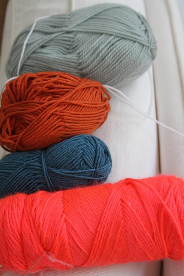 Yarn palettes 1
