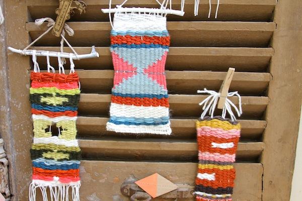 Wonky weavings