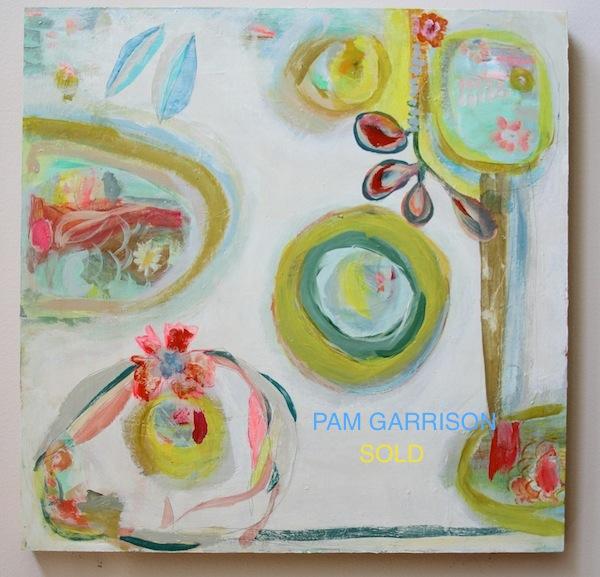 Pam Garrison Summer Garden painting