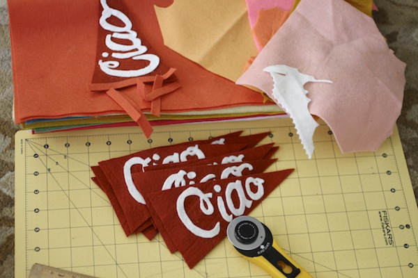 Orvieto pennants in progress