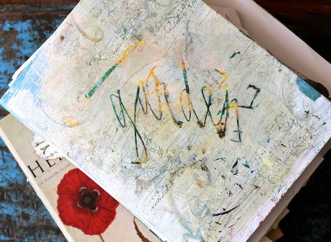 Old garden journal