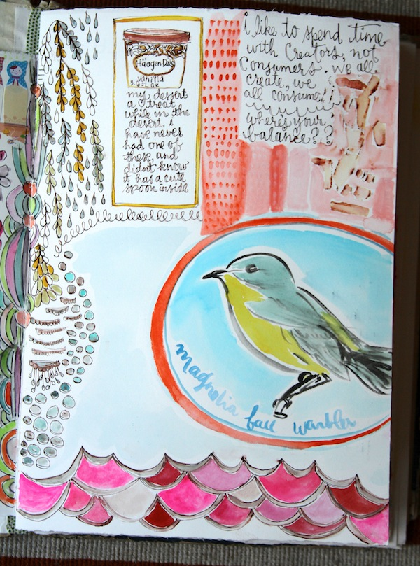 PG current art journaling 3