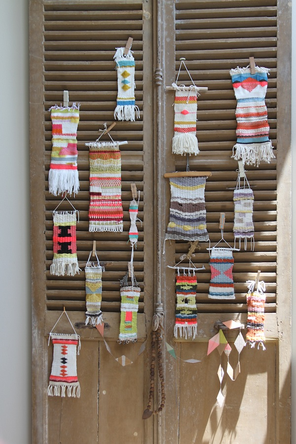 PG wonky weaving wall august