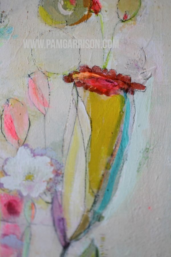 Pam garrison painting in progress 8:14 24