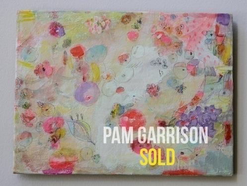 Pam Garrison Dew Drops painting
