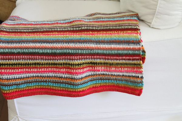 PG finished crochet blanket