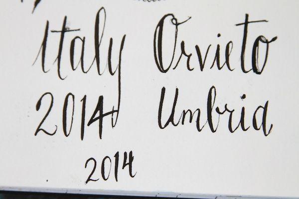 Pam Garrison Italy class dip pens