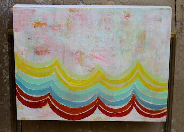 Pam Garrison summer fiesta painting