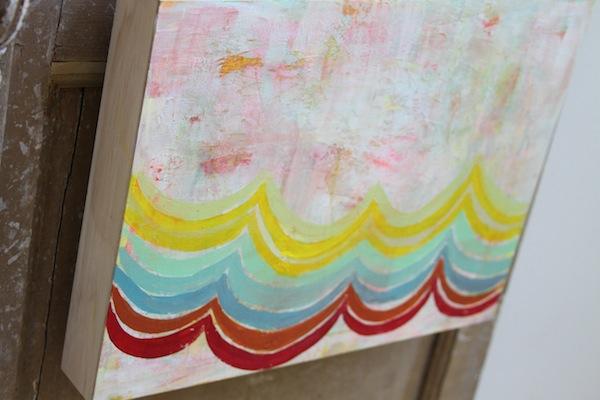 Pam Garrison summer fiesta painting 1