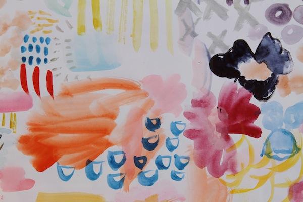 Pam garrison watercoloring