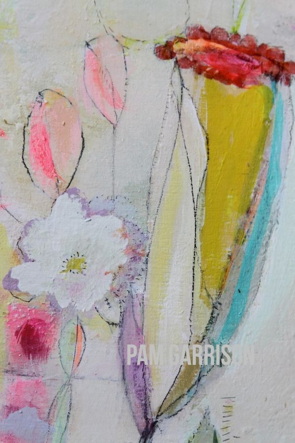 Pam Garrison Bring On Spring painting 3