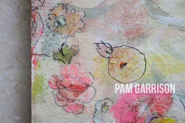 Pam Garrison Dew Drops painting8