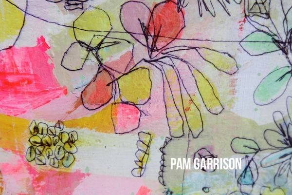 Pam Garrison The Happiest Summer painting3