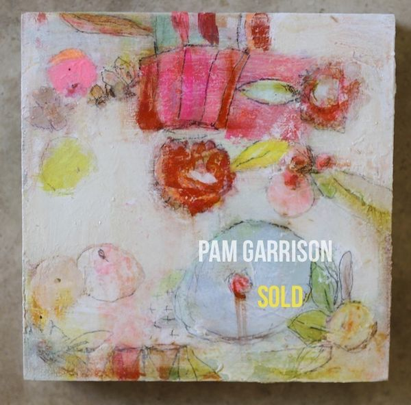 Pam Garrison Softly Blooming painting