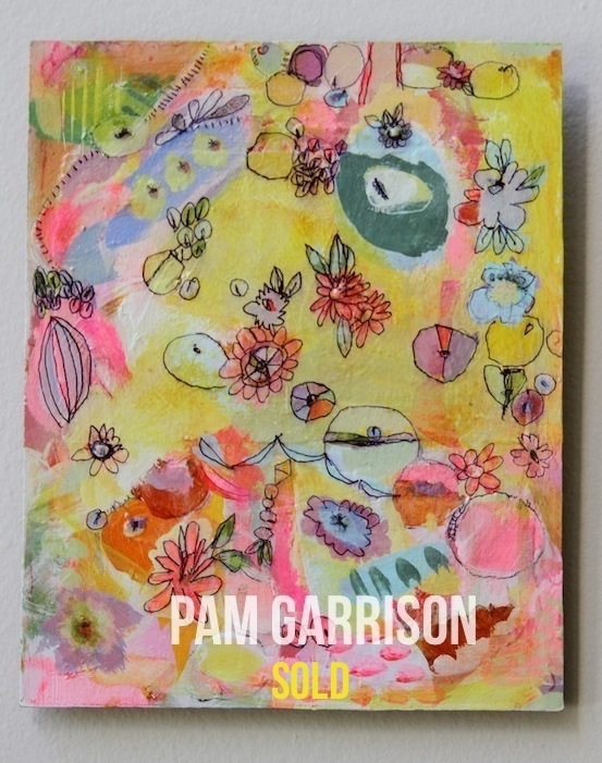 Pam Garrison Fiesty One painting