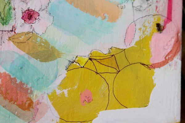 Pam Garison paintings in progress4b