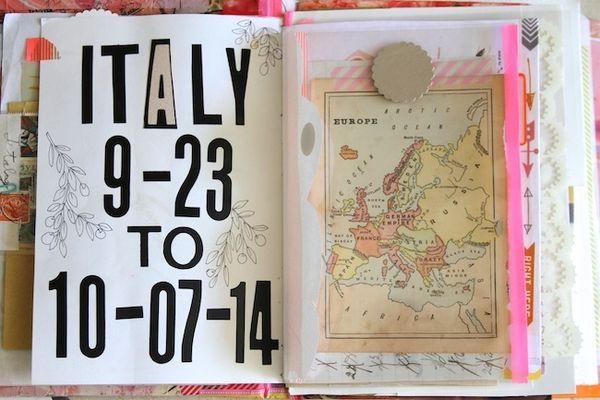 Pam Garrison Italy travel journal One 6