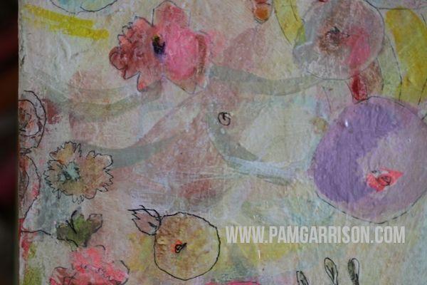 Pam garrison painting in progress 8:14 1