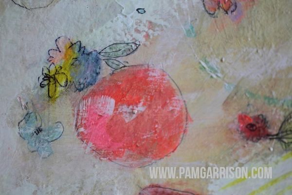 Pam garrison painting in progress 8:14 2