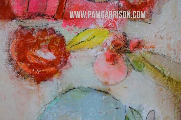 Pam garrison painting in progress 8:14 19