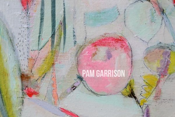 Pam Garrison Bring On Spring painting 1