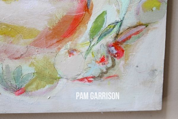 Pam Garrison Bring On Spring painting 4