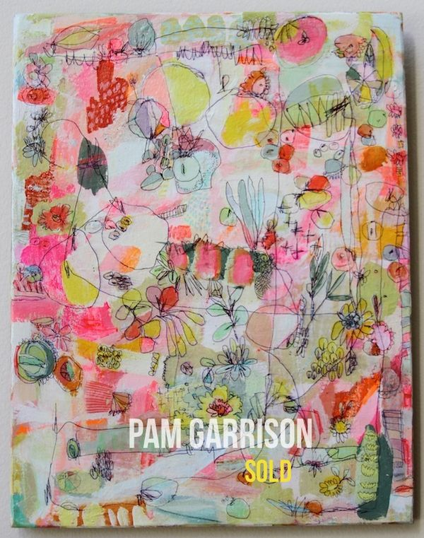 Pam Garrison The Happiest Summer painting