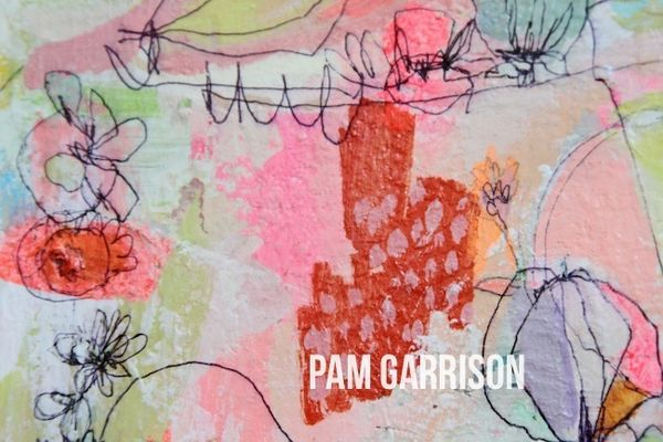 Pam Garrison The Happiest Summer painting2