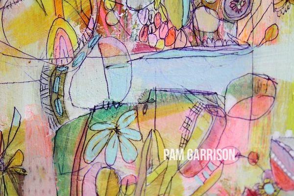 PGarrison Endless Summer painting  3