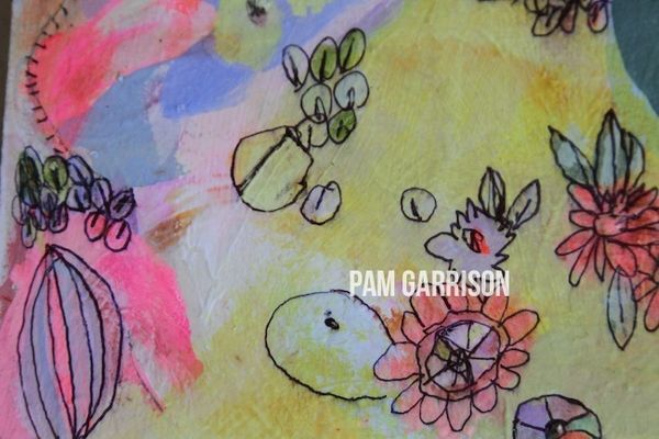 Pam Garrison Fiesty One painting2