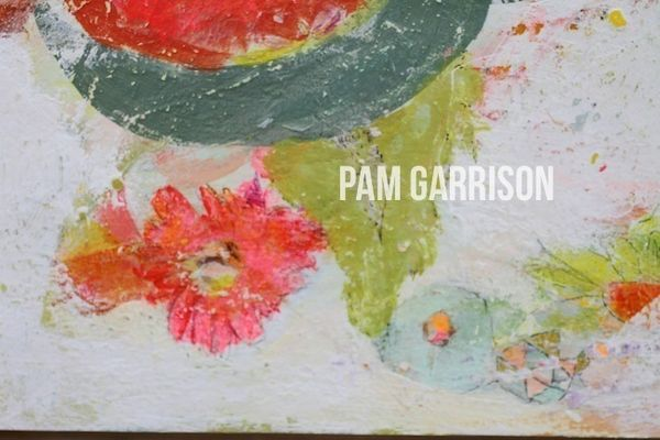 Pam Garrison A Gentle Spring painting1