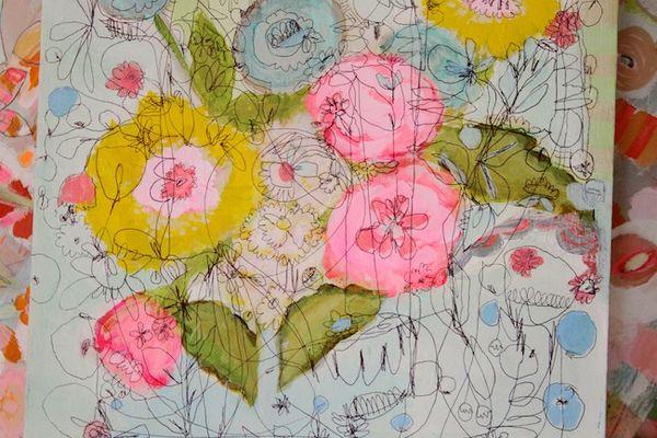 Pam Garison paintings in progress6a