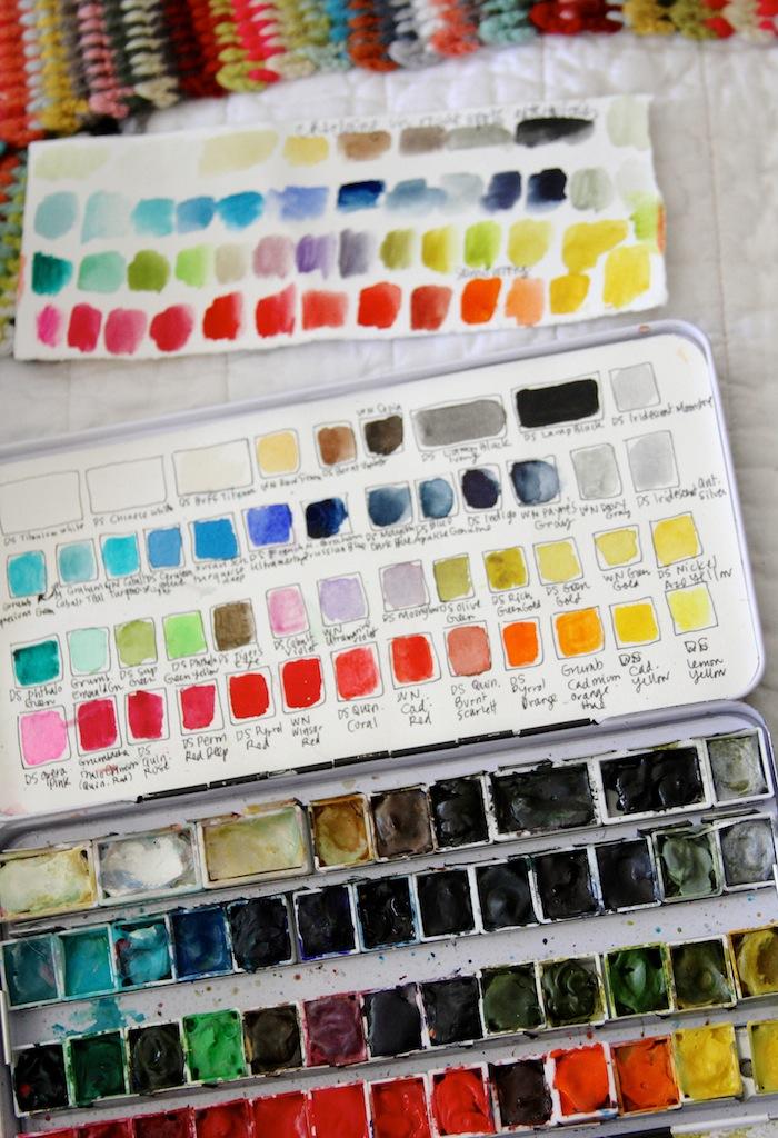 PG watercolor set