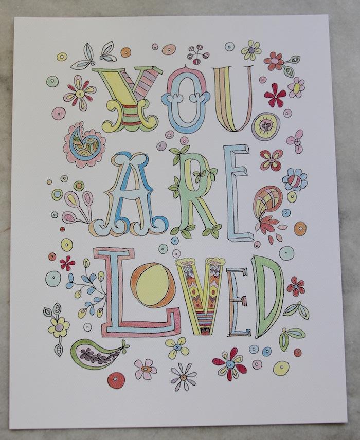 Pam garrison art print