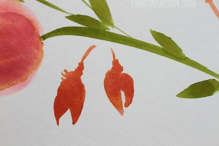 Pam garrison watercoloring 13