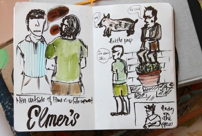 Pam Garrison sketchbook 18