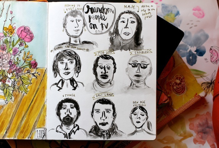 Pam Garrison sketchbook 11