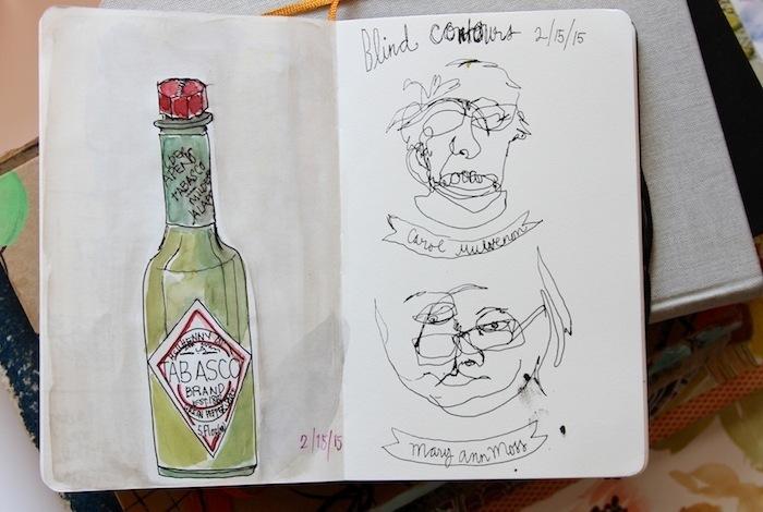 Pam Garrison sketchbook 15
