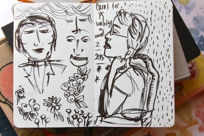 Pam Garrison sketchbook 12