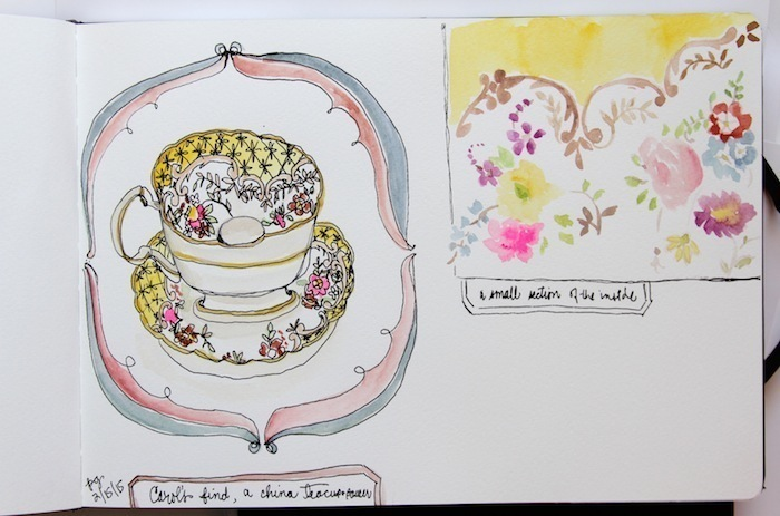 Pam Garrison sketchbook 1