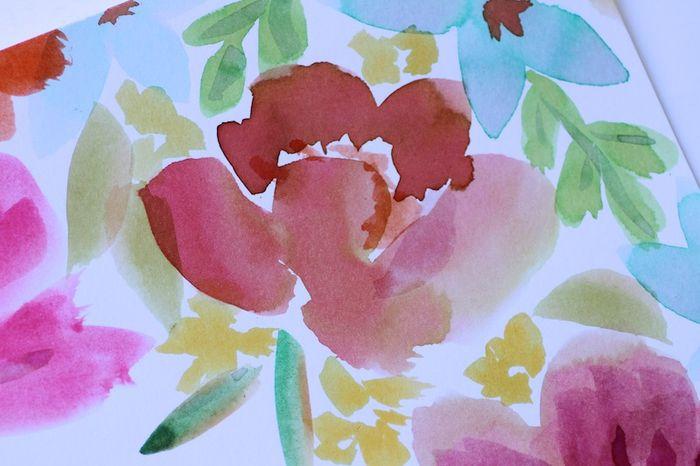 Paintingpetalsin progress_pamgarrison