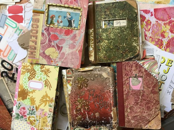 Pam Garrison Travel Journals