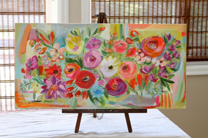 Everyday Cheer Pam Garrison floral painting