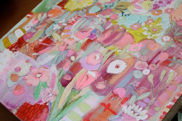 Pam Garison paintings in progress8a