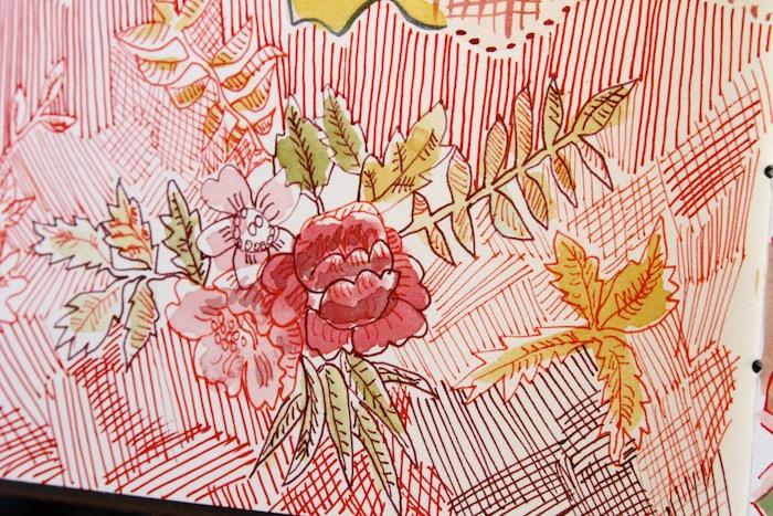 Mary ann moss art journal 1